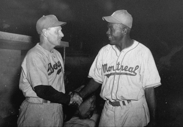 Leo Durocher et Jackie Robinson