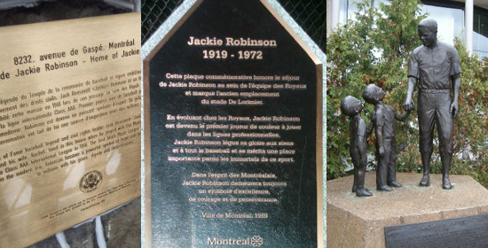 Monuments pour Jackie Robison