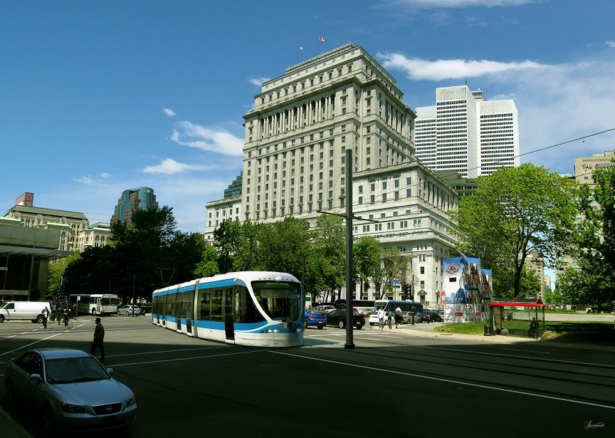 Tramway Montreal