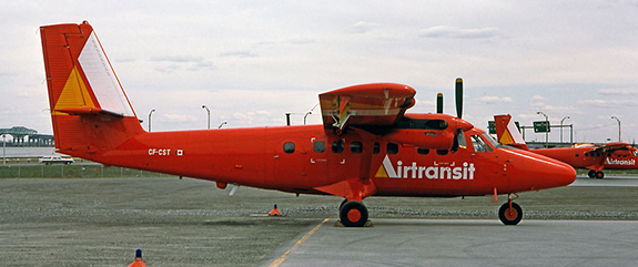 Twin Otter d'Air Transit