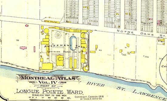 Cliquez pour agrandir. Carte de Parc 1914.