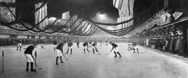 Le Victoria Ice Rink de la rue Drummond