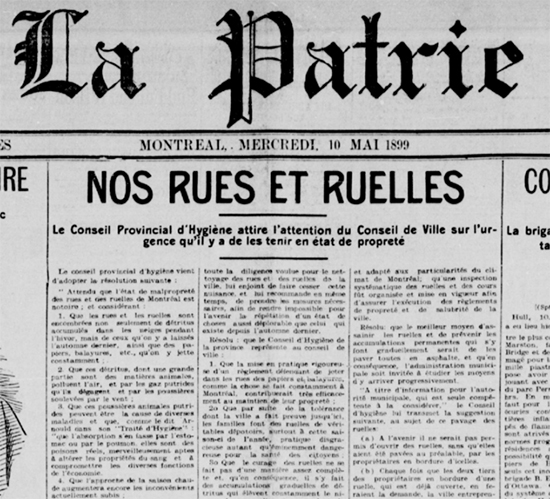 La Patrie, 10 mai 1899