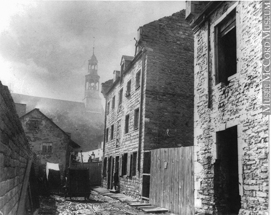 Ruelle 1890, Photo: Musée McCord