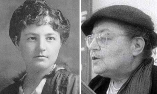 Justine Lacoste-Beaubien 1903 et 1958