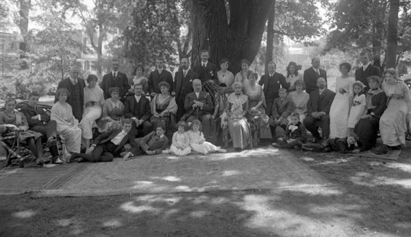 Famille Beaubien à la résidence de Pierre à Outremont.