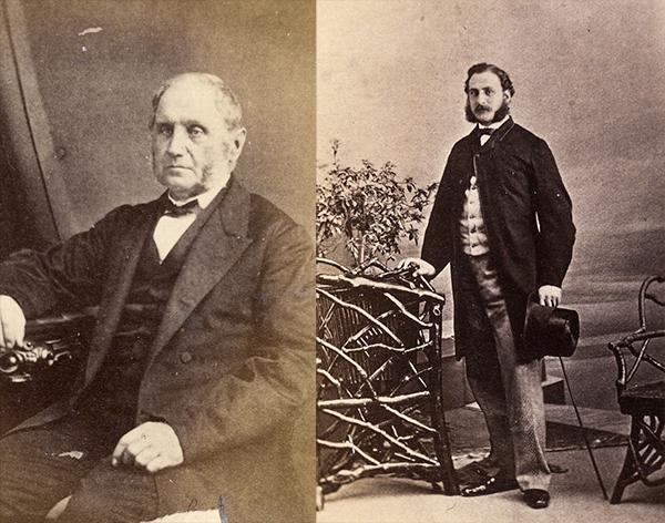 Pierre et Louis Beaubien