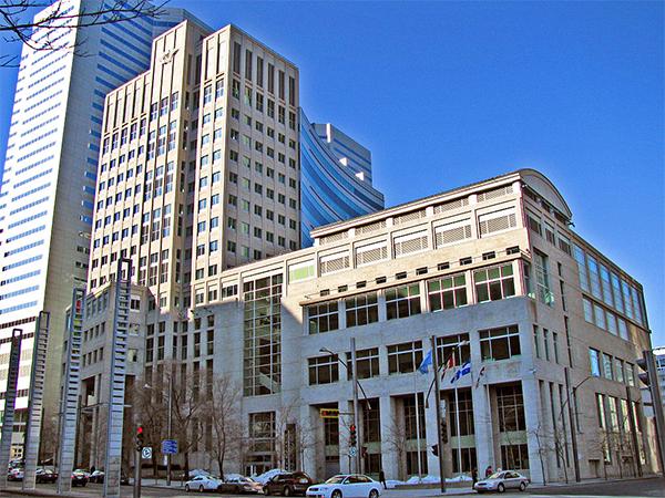 Siège Social de l'OACI à Montréal.