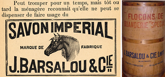 Savon Barsalou et savon à lessive