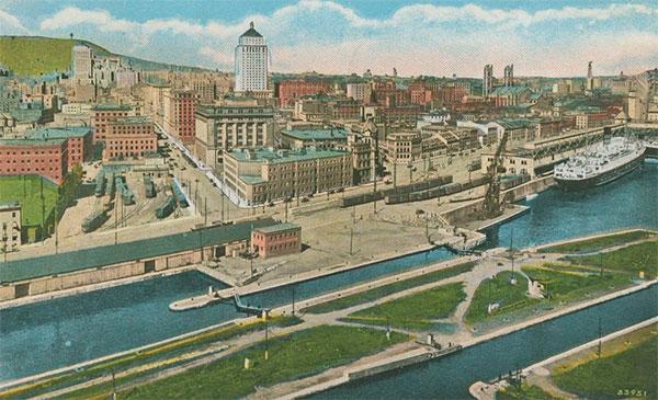 Carte Postale, jetée Pointe du Moulin à vent sans silo.