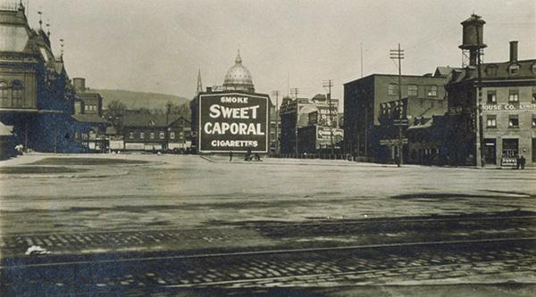 Le square en 1911