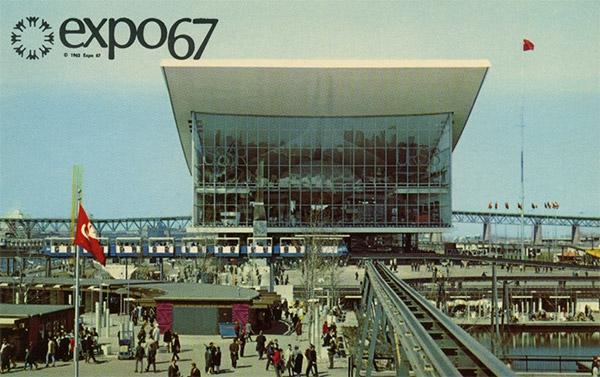 Carte Postale de l'Expo 67.