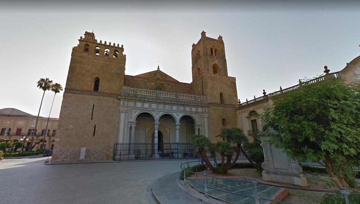 La Cathédrale de Monreal en Sicile.