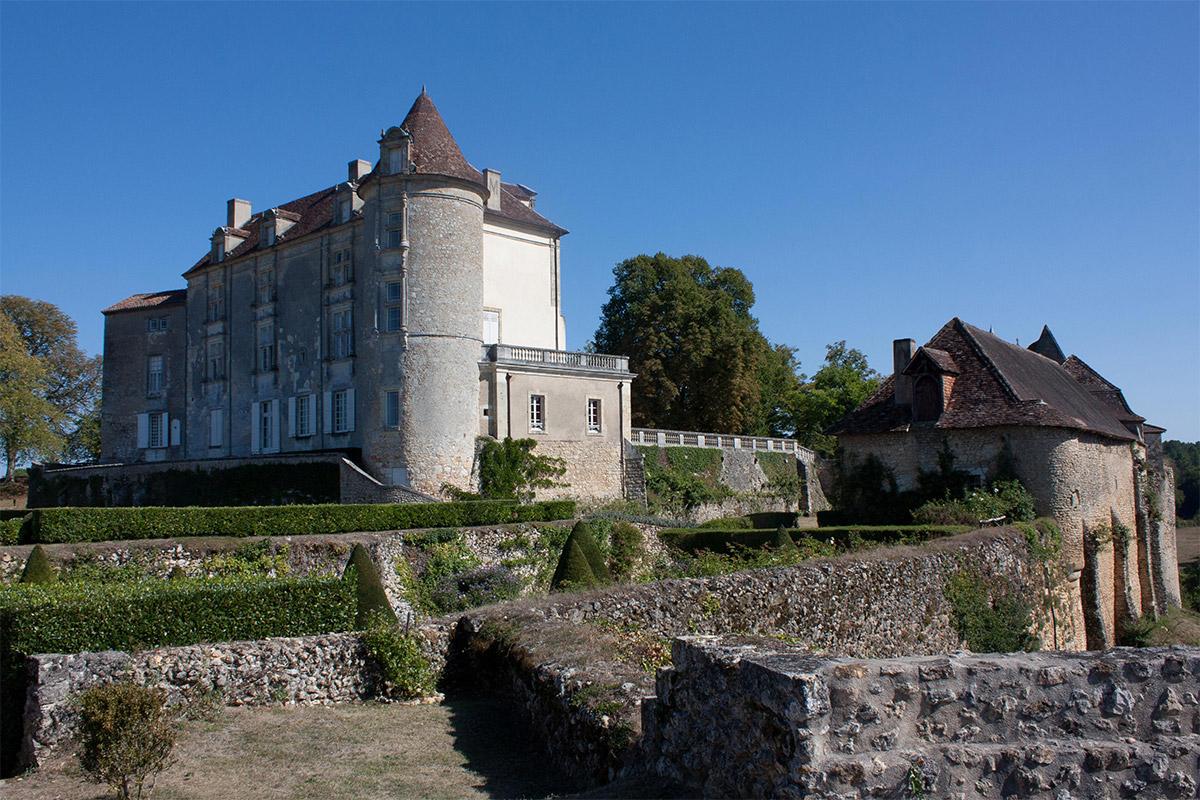 Château de Montréal en Dordogne.