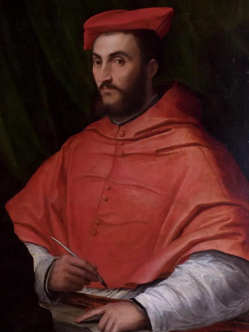 Hippolyte de Médicis par Girolamo da Carpi