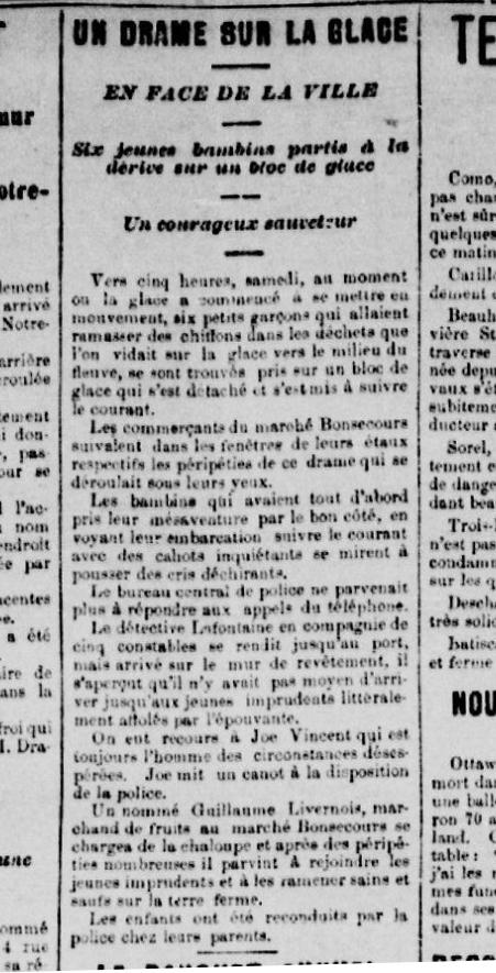 La Patrie, 13 avril, 1896