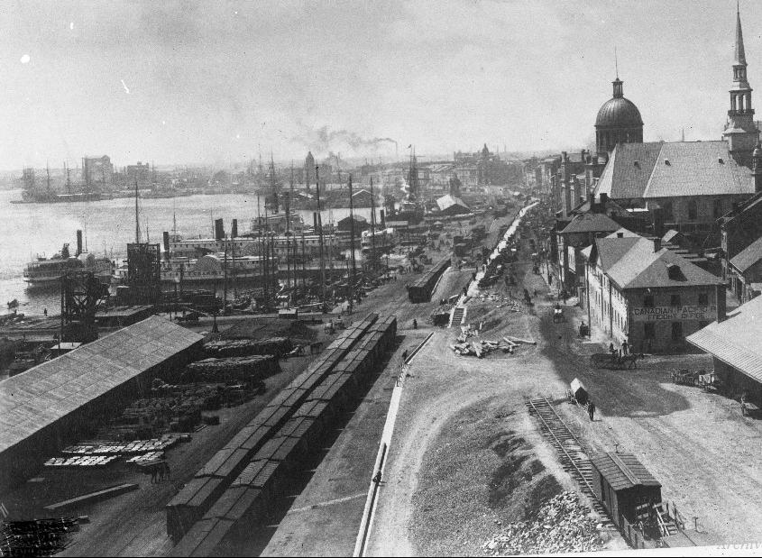 Port de Montréal 1880