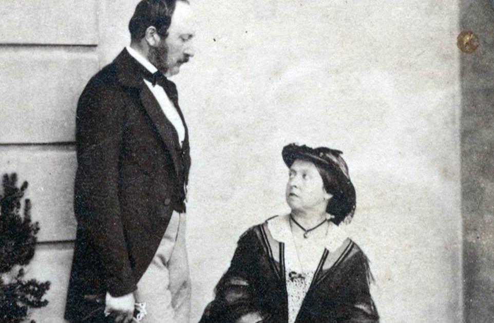 Le Prince Consort, Albert avec la reine Victoria, 1859