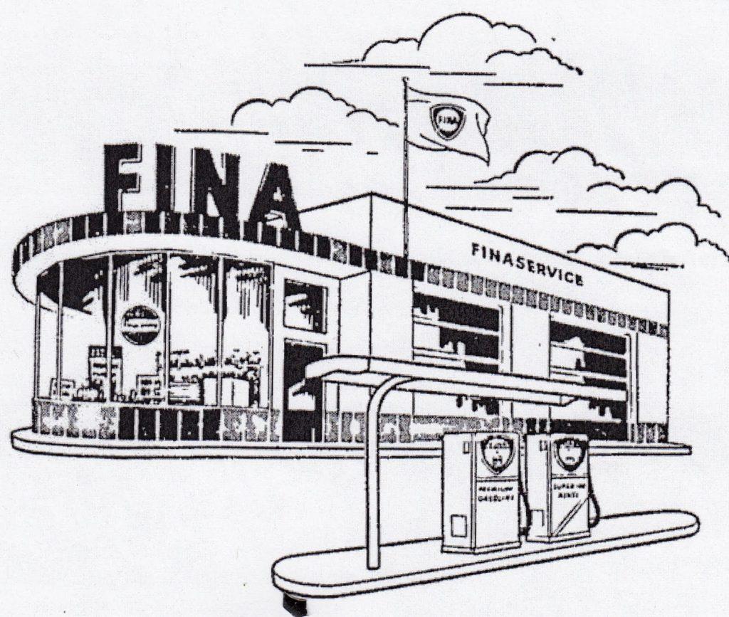 Station modèle Fina
