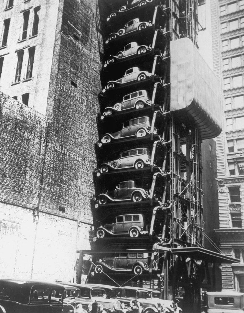 Stationnement Circa 1920 New York