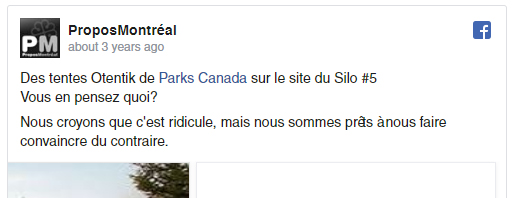 Notre opinion Facebook