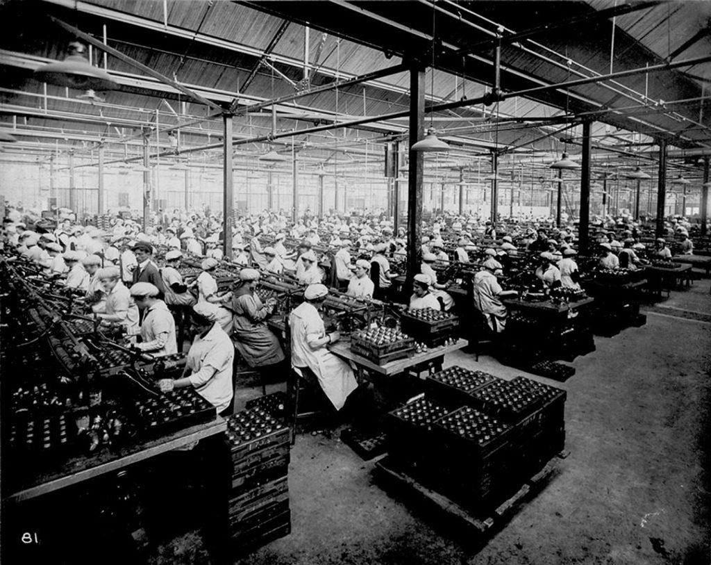 L'usine de la British Munition Supply de Verdun en 1916