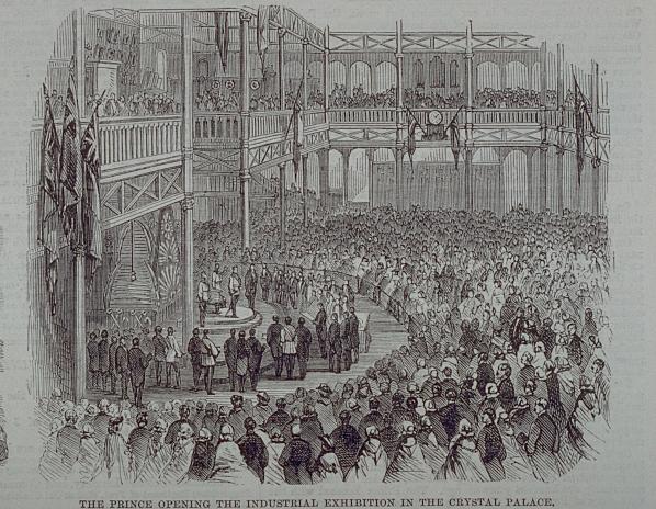 Inauguration par le Prince de Galles