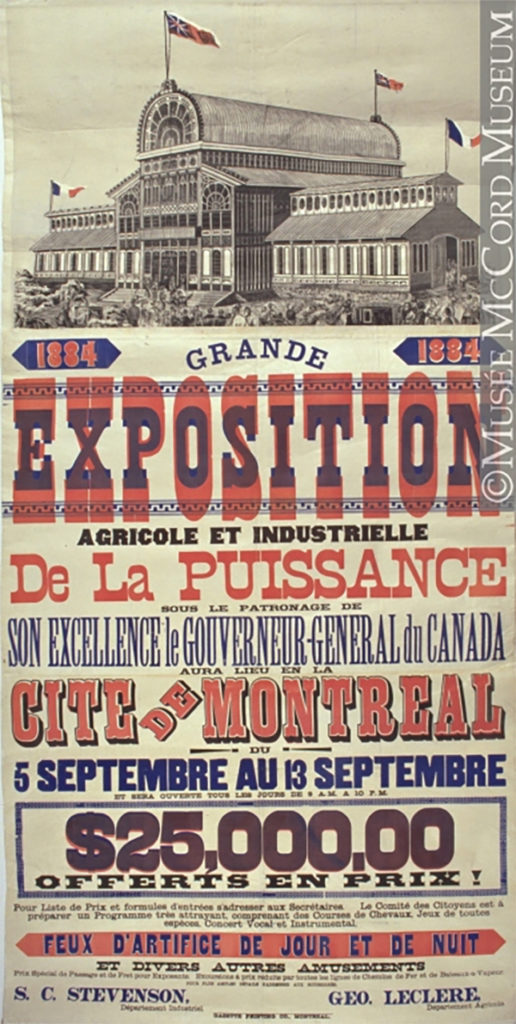 Poster de l'exposition Agricole de 1884