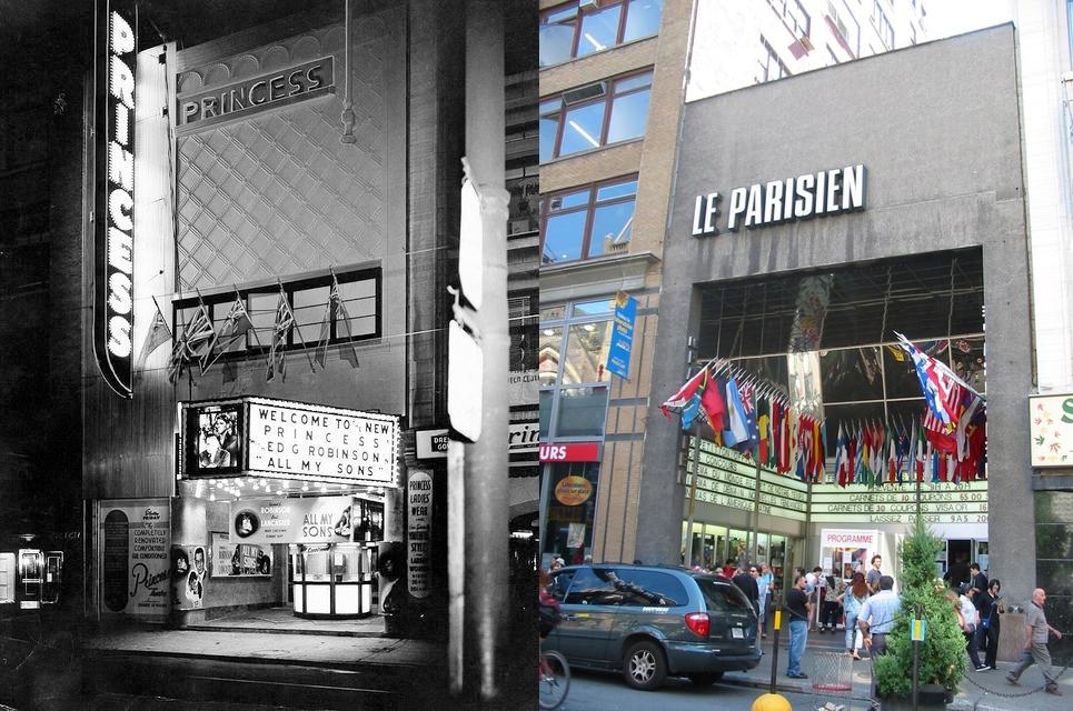 Le Princess deviendra le cinéma Parisien en 1963
