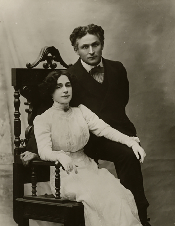 Harry et Bess Houdini en 1907