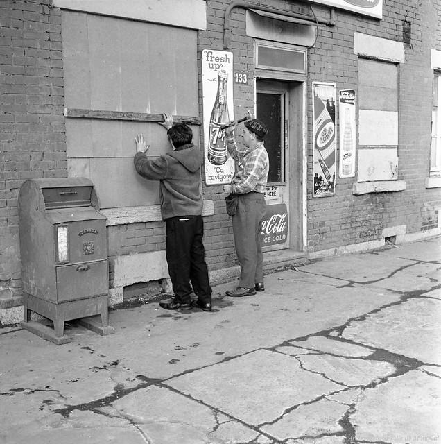Goose Village en 1964
