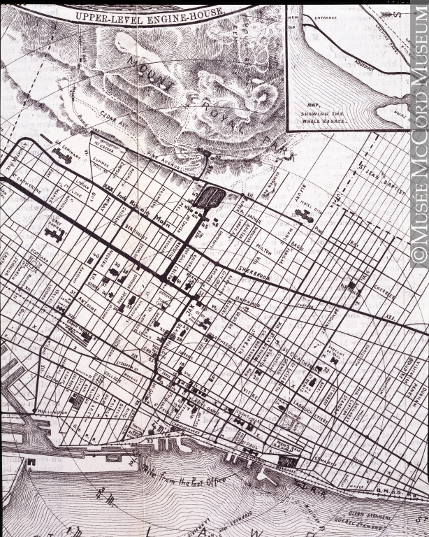 Plance de l'aqueduc 1879
