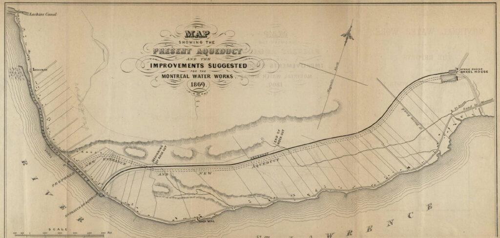 Plan proposé de 1869