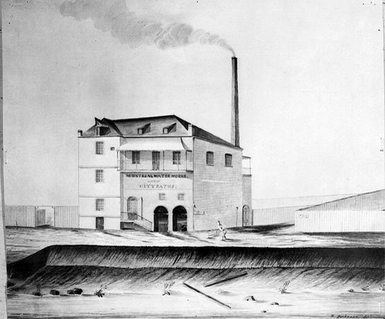 Usine des pompes de 1835