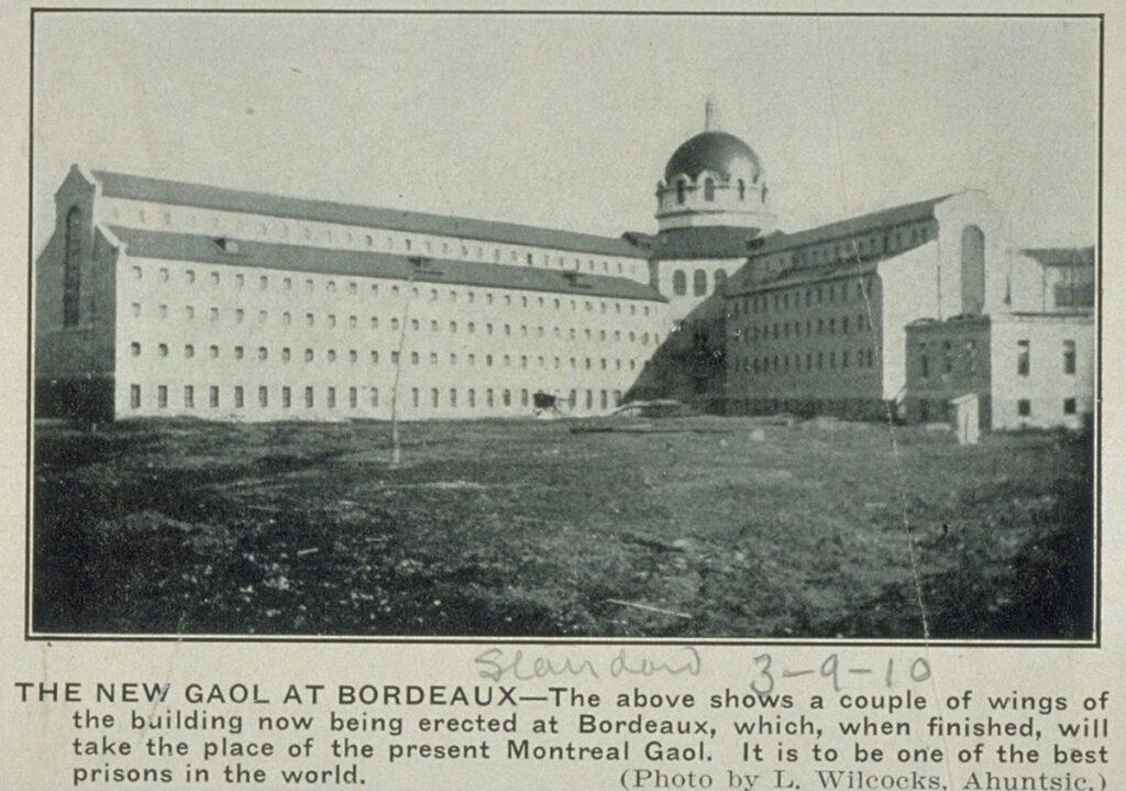 La prison de Bordeaux
