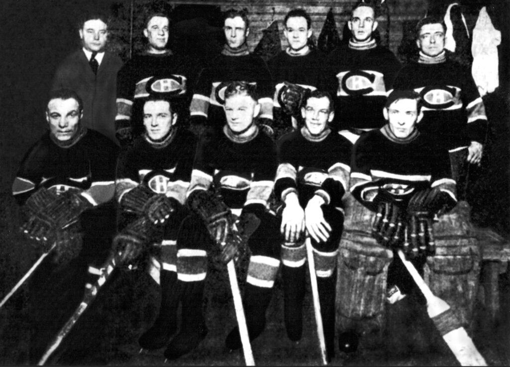 Le club de Hockey des Canadiens de Montréal de la saison 1918-1919.