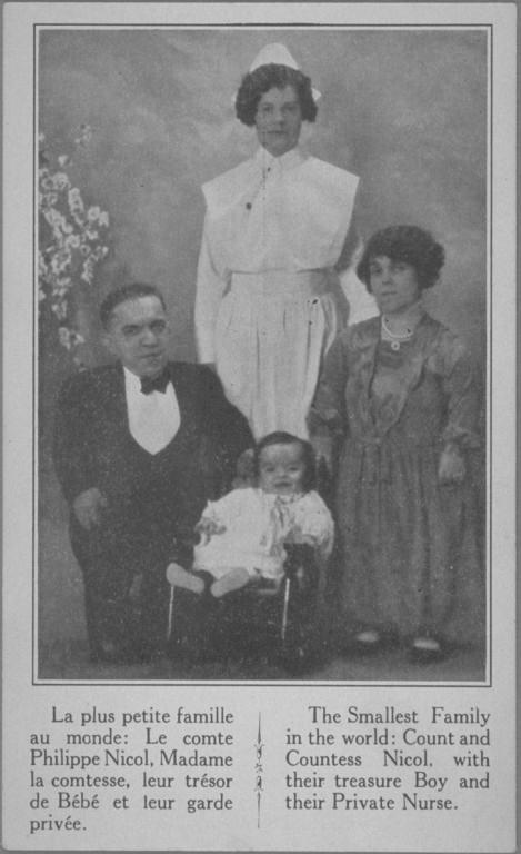 La famille et l'infirmière du petit Philippe