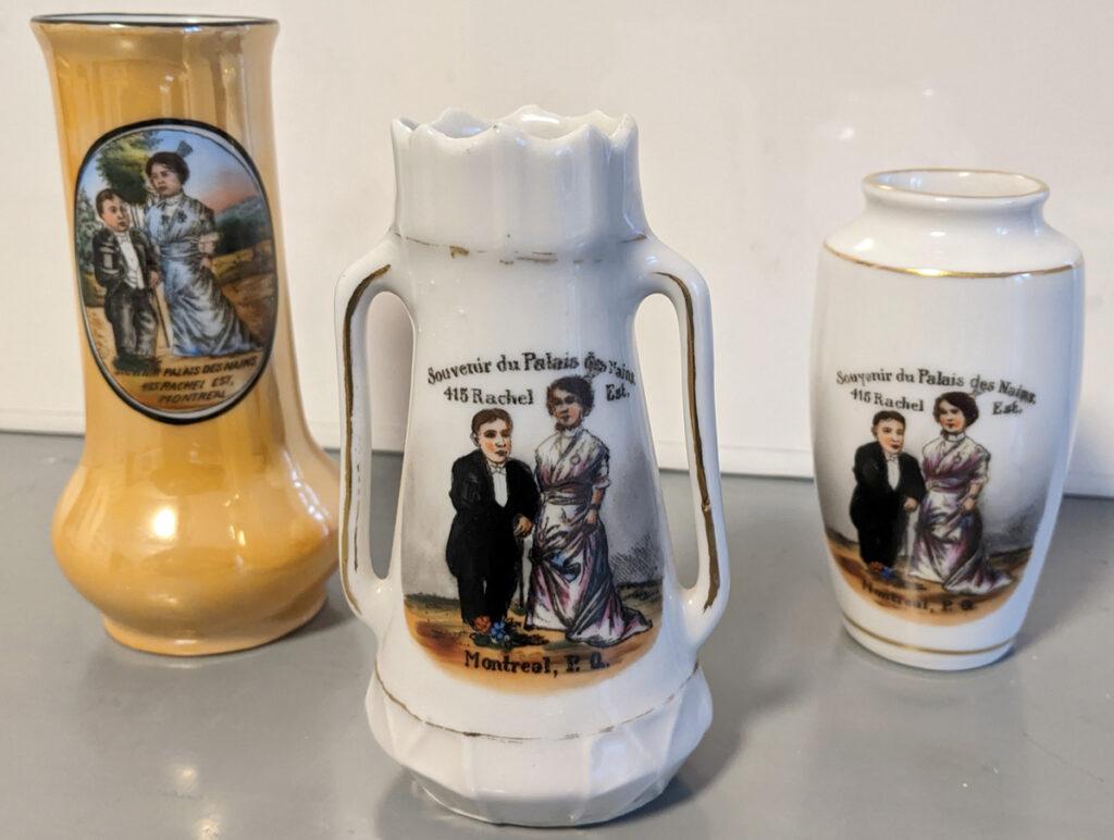 Items souvenirs du palais des Nains
