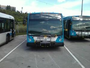 Porte-Vélos sur autobus
