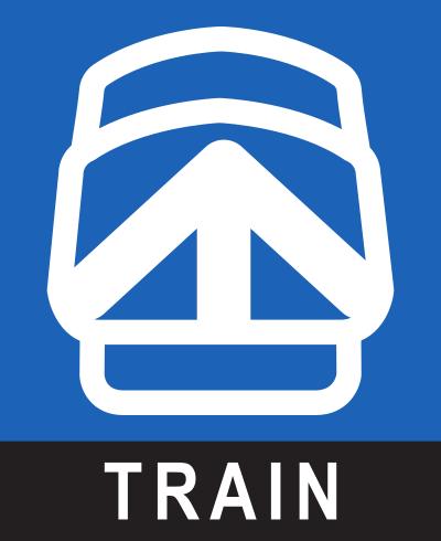 Logo Train de Banlieue AMT
