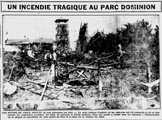 La Patrie, 11 août 1919.