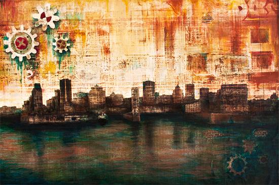 L'étoile de Montréal par Tania Mignacca
