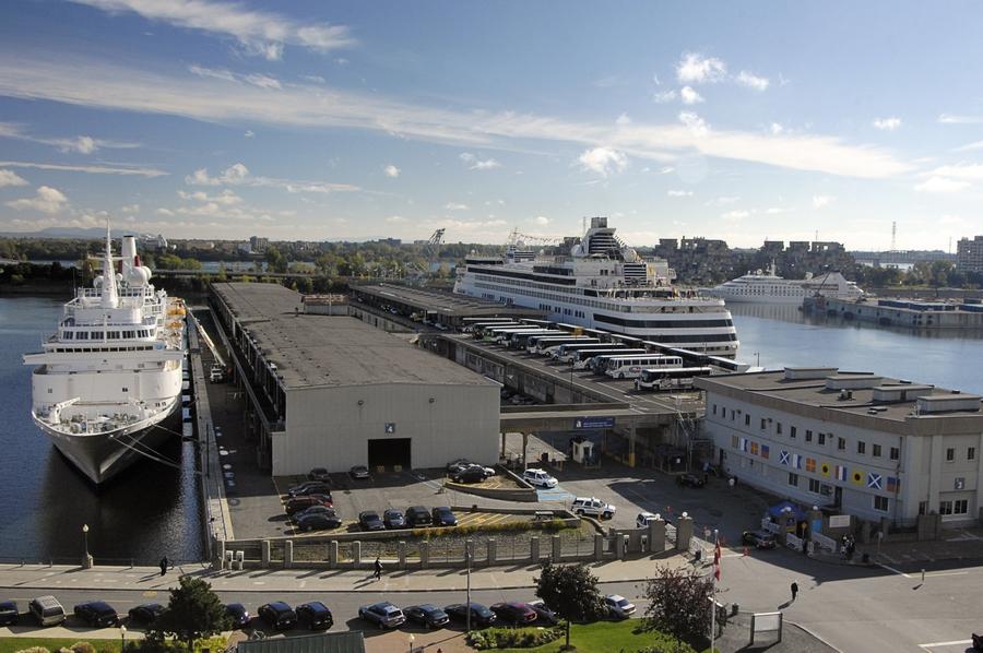 Jetée Alexadra photo; Port de Montréal
