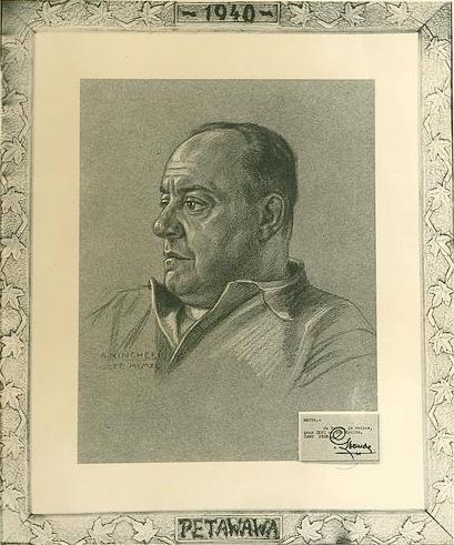 Camillien Houde par Guido Nincheri, 1940