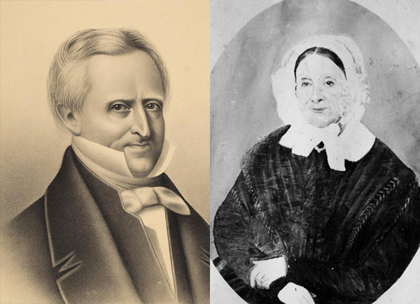 Denis-Benjamin Viger et son épouse Marie-Amable Foretier