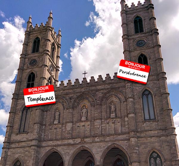 La Basilique et ses tours.