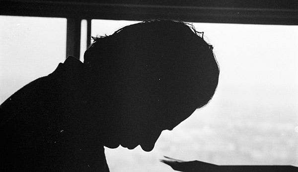 Mordecai Richler silhouette