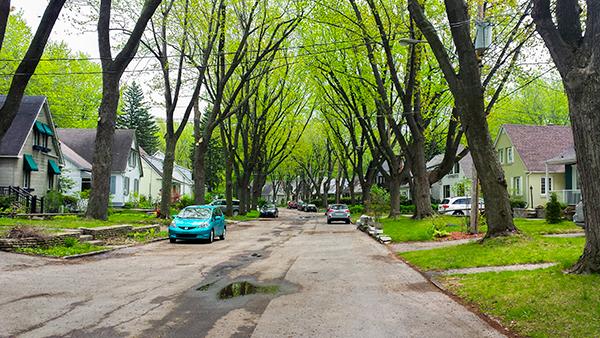 Rue des Plaines, Rosemont-Petite-Patrie.