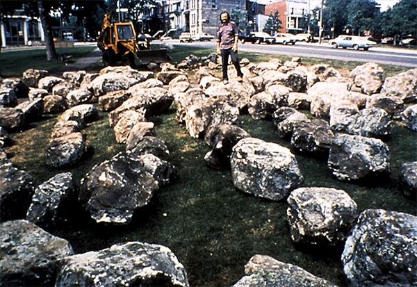 Stone Maze, Bill Vazan