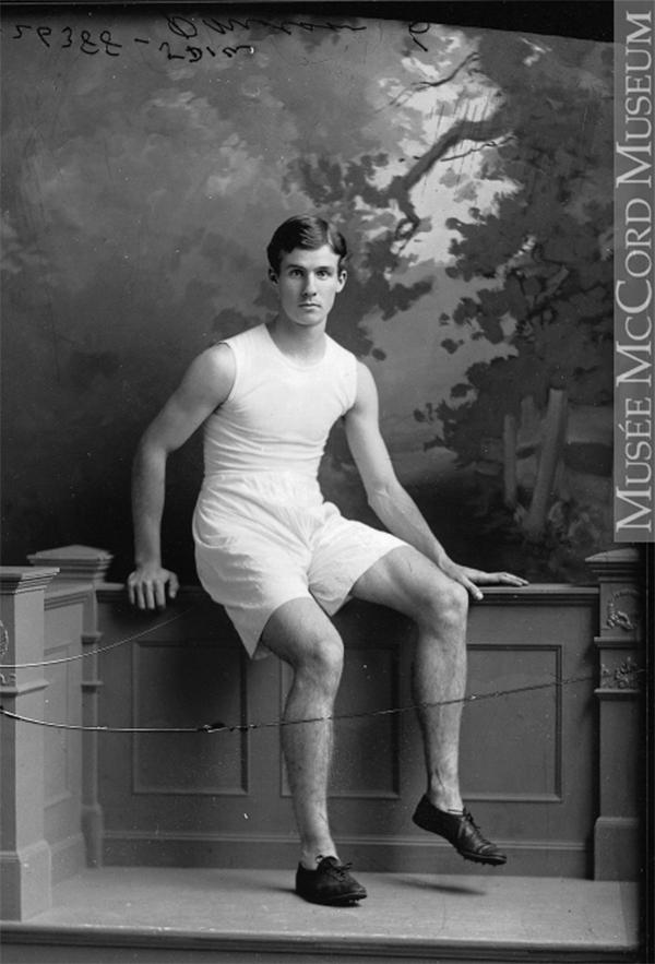Percival Molson, 1898. Photo collection du Musée McCord.